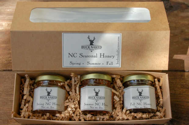 seasonal NC honey gift
